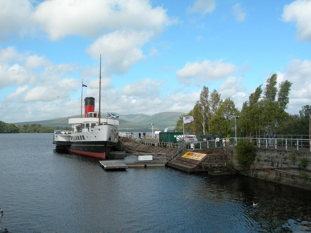how to get to loch lomond shores from glasgow