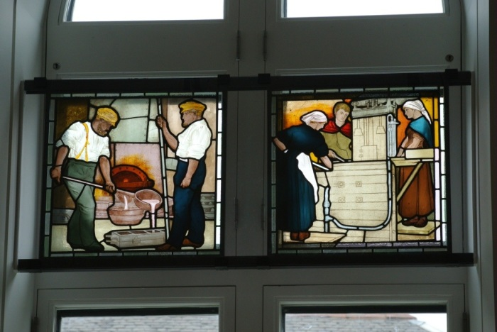 Maryhill Burgh Halls stained glass