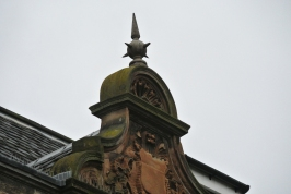 Detail, Hazelwood House, just outside the park