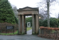 Original portico (1801) for Ibrox Hill House
