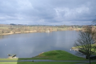 Loch at Linlithgow Palace