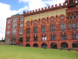 Templeton's Carpet Factory, East End walk