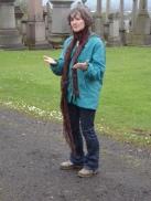 Glasgow Necropolis - Lesley storytelling