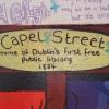 Library street art,Dublin