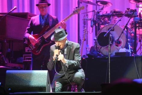 Leonard Cohen and Roscoe Beck