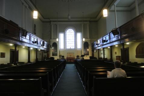 St Michan's Church interior