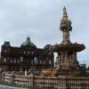 Doulton Fountain and People's Palace, GlasgowGreen