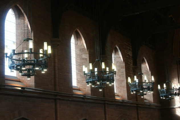 Barony Hall - lights