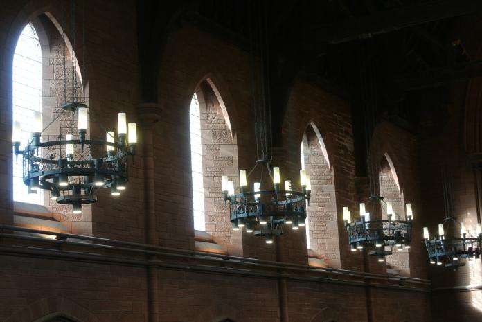 Barony Hall - lights