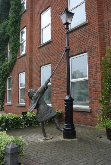 Street statue