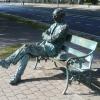 Patrick Kavanagh Statue,Dublin
