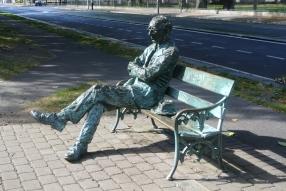 Patrick Kavanagh Statue