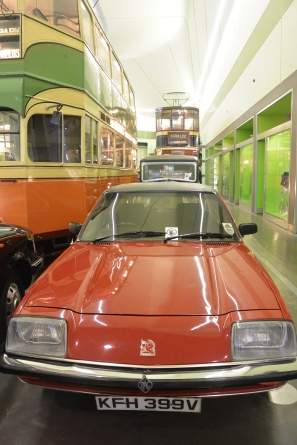 Cars and trams