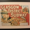 Riverside Museum – old Glasgow Subwayposter