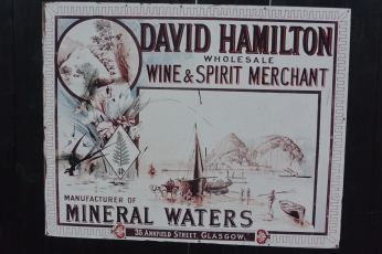Old drinks ad