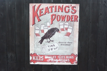 Old insecticide ad