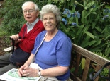 Mum and Dad at Branklyn Garden