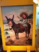 Alice donkeys around
