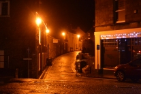 Dunblane by night