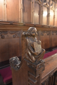 Choir stall detail