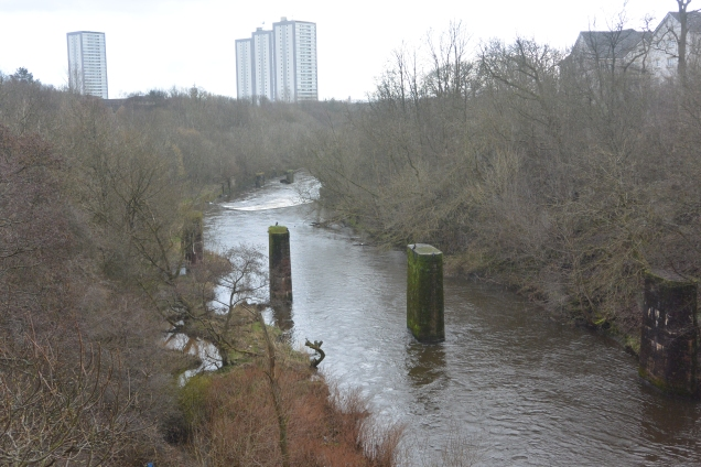 River Kelvin from the aqueduct