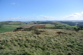 View from Lynedoch Obelisk