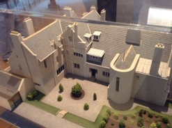Model of Hill House (Mackintosh)