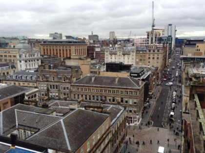 Glasgow from the Lighthouse