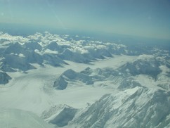 Denali Park Mt McKinley, Foraker, Hunter Summit Flight