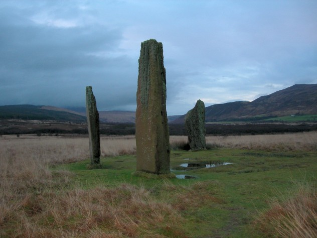 Arran - standing stones on Machrie Moor