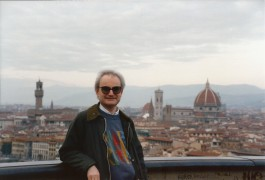 John at Piazzale Michealangelo