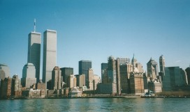 From ferry to Liberty Island