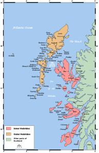 The Hebrides Image credit: Kelisi via Wikimedia