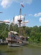 Reproduction settlers' ship