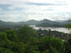 From Phu Si Hill