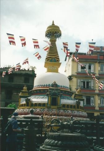 Small stupa, Patan