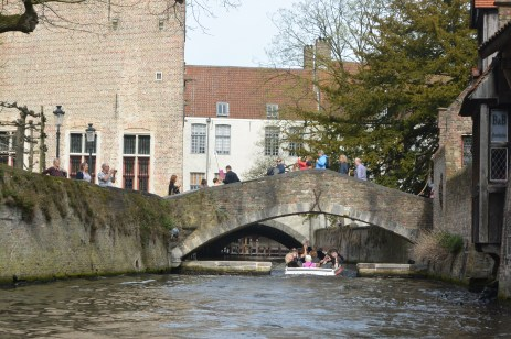Bruges by canal