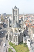 Sint Niklaas from the Belfry