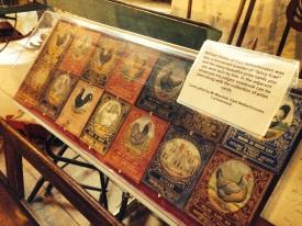 Prize poultry cards