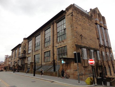 Mackintosh Building 22nd May 2014