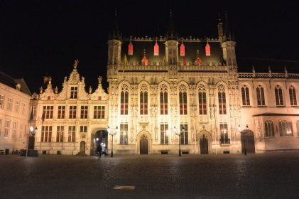 Stadhuis by night