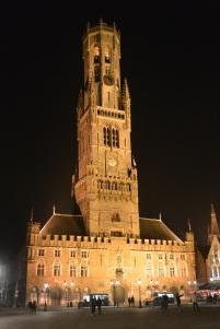 Belfry by night