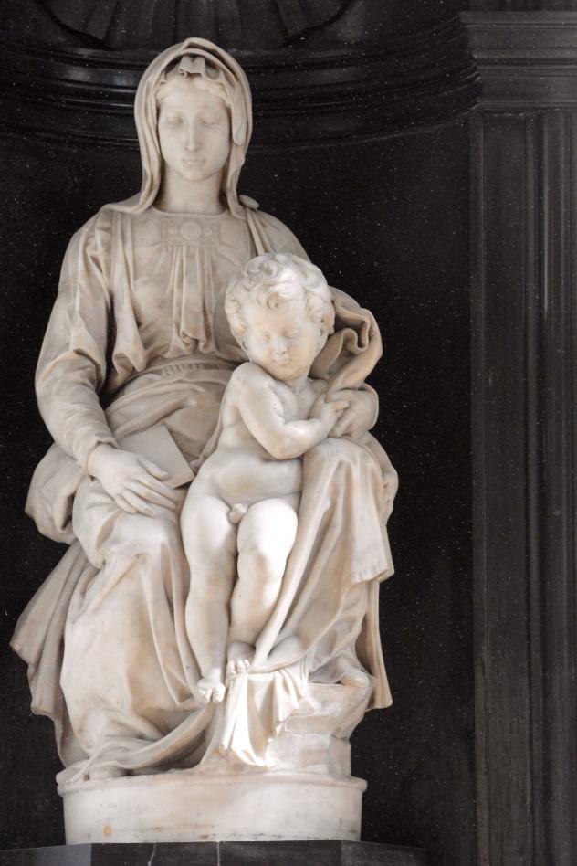 Michelangelo, Virgin and Child
