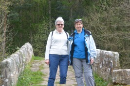 With Valerie on Beggar's Bridge