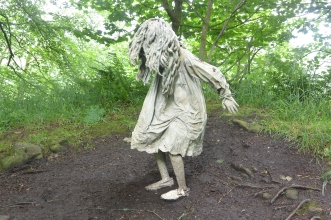 Weeping girl