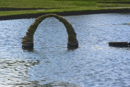 Lake sculpture