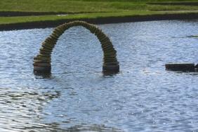 Lake sculpture