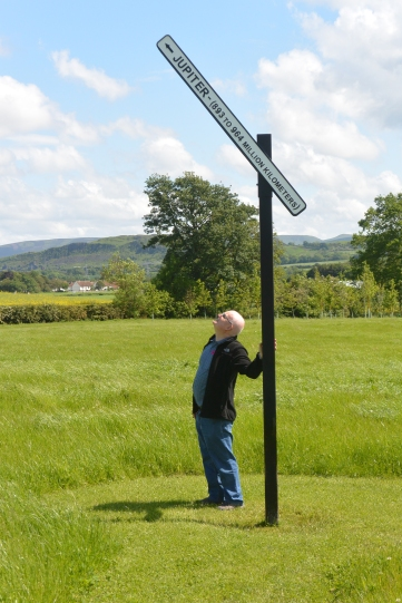 Signpost to Jupiter