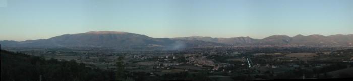 View from Poggia del Pettirossi