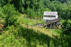 Grist mill at Virginia's Explore Park